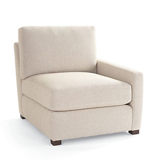 Berkeley Track-arm Modular Right-facing Chair, Special Order