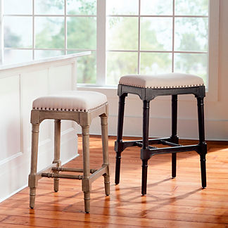 Logan Backless Bar & Counter Stool