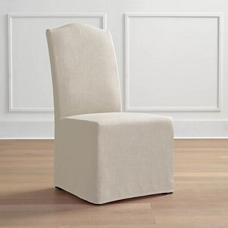 Turin Slipcovered Dining Side Chair