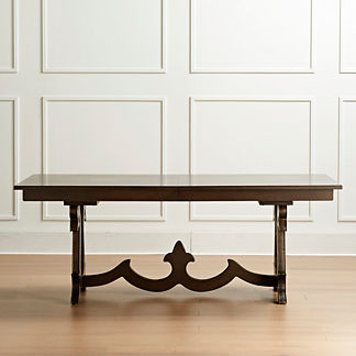 Vercelli Expandable Rectangular Dining Table