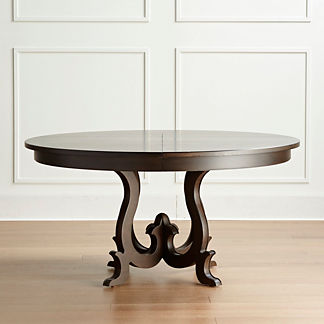 Vercelli Expandable Round Dining Table