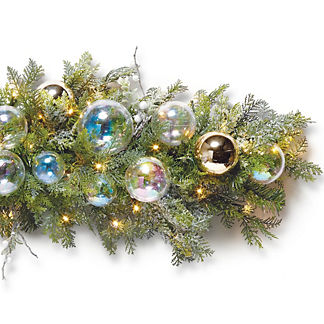 Bubble Ornament 6 ft. Garland