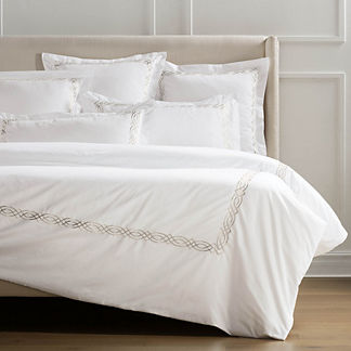 Resort Diamond Trellis Duvet Cover