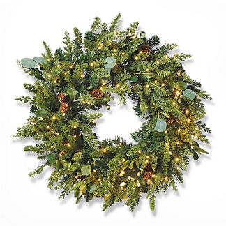 Majestic Holiday Outdoor Cordless Wreath