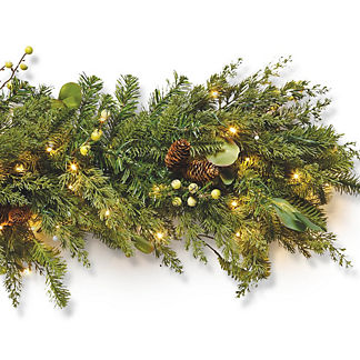 Majestic Holiday Outdoor Cordless Garland