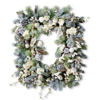 Frosted Celebration Wreath
