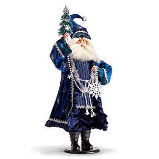 Delft Blue Santa