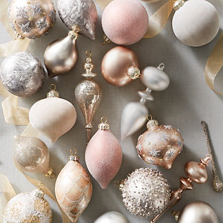 Silver Bells 40-piece Ornament Collection