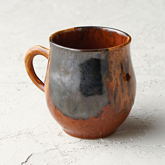Casafina Etna Stoneware Mugs, Set of Six