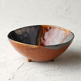 Casafina Etna Stoneware Footed Serving Bowl