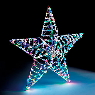 LED Multifunction 3D 5-point Star