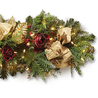 Renaissance Indoor Cordless 6 ft. Garland