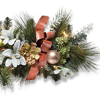 Royal Blush Indoor Cordless 6 ft. Garland
