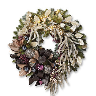 Twilight Cordless Wreath