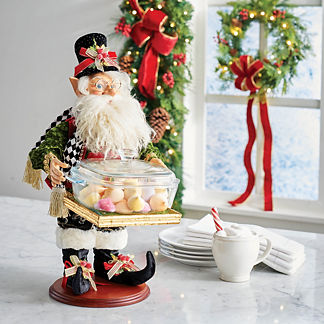 Mark Roberts North Pole Catering Elf with Bowl