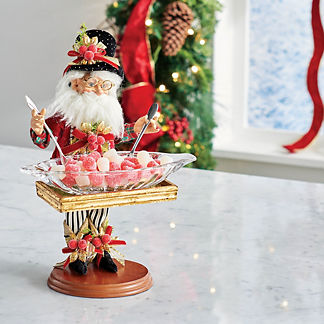 Mark Roberts North Pole Catering Elf with Plate