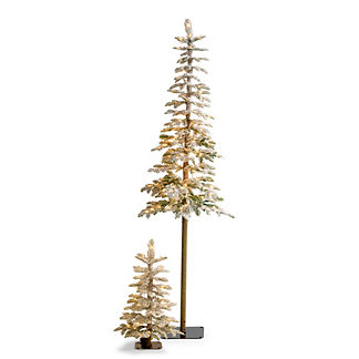 Sparkling Snow Fir Tree