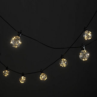 Warm White Micro LED Globe Lights