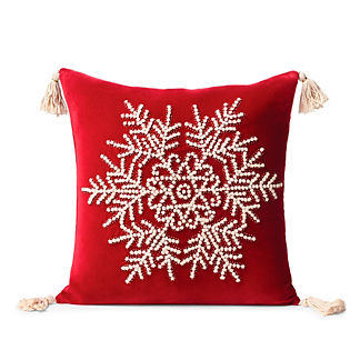Saint Moritz Embroidered Decorative Pillow Cover