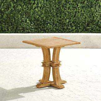 Teak Farmhouse Coffee Table in Natural Finish
