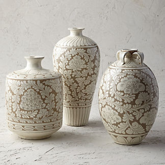 Song Beige Large Ceramic Collection