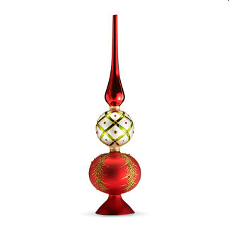 Holiday Tidings Tree Topper