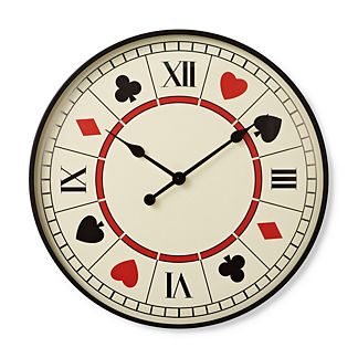 Playing Card Clock
