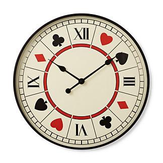 Playing Card Clock