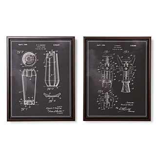 Alcohol Patent Giclee Prints