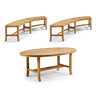 Marimont 3-pc. Dining Set Natural