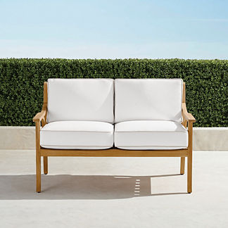 Ambra Loveseat with Cushions, Special Order