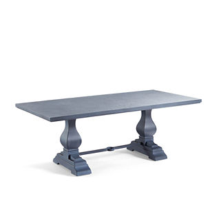 Aluminum Farmhouse Table Tailored Furniture Cover