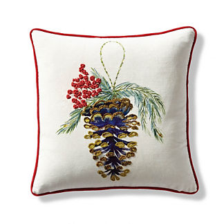 Pine Cone Ornament Decorative Pillow Cover