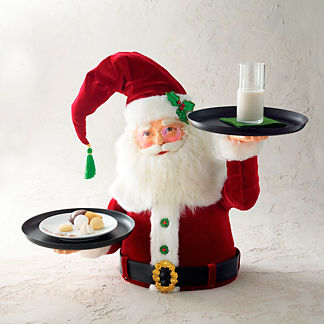 Katherine's Collection Santa with Serving Trays
