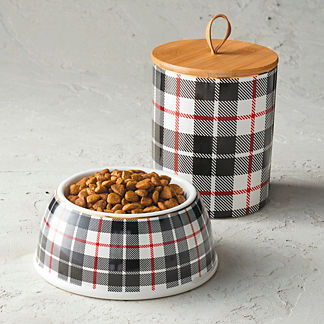 Paw-liday Plaid Pet Accessories