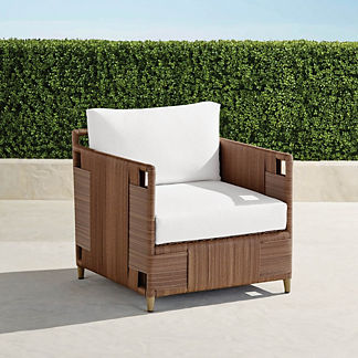 Druwood Lounge Chair with Cushions