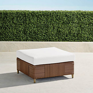 Druwood Ottoman with Cushions