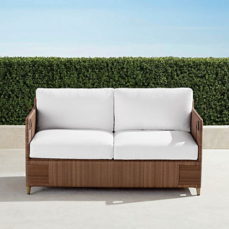Druwood Loveseat with Cushions, Special Order