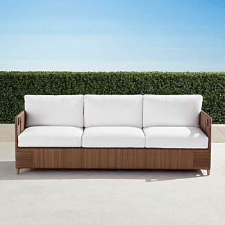 Druwood Sofa with Cushions, Special Order