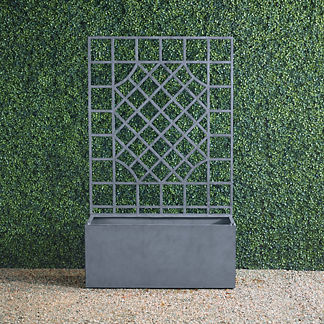 New York Botanical Garden Alix Trough with Trellis