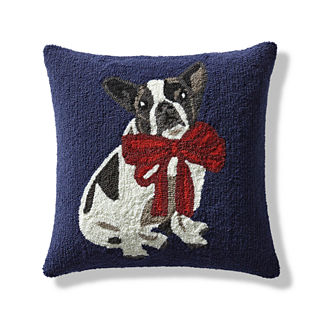 Christmas Dogs Indoor/Outdoor Pillow
