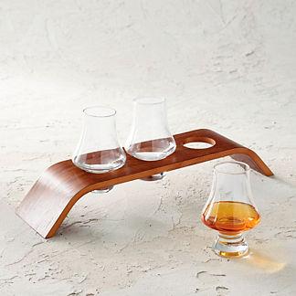 Final Touch Whiskey Tasting Flight Set