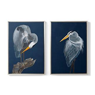Gray Herons Giclee Prints