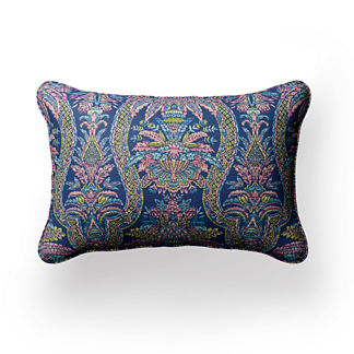 Ava Vintage Vine Lumbar Indoor/Outdoor Pillow