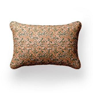 Cabazon Watercolor Lumbar Indoor/Outdoor Pillow