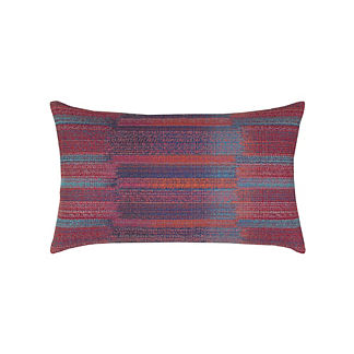 Diverse Indoor/Outdoor Lumbar Pillow by Elaine Smith