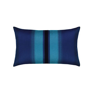 Ombre Lumbar Indoor/Outdoor Pillow by Elaine Smith
