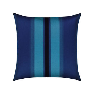 Ombre Indoor/Outdoor Pillow by Elaine Smith