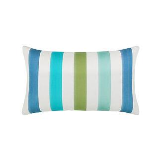 Rhodes Stripe Lumbar Indoor/Outdoor Pillow by Elaine Smith