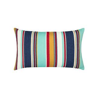 Sicily Stripe Lumbar Indoor/Outdoor Pillow by Elaine Smith